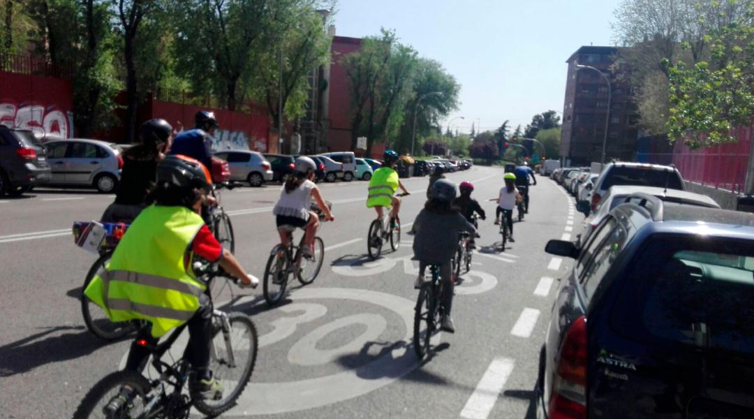 """Nuestrxs alumnxs de 5ª de primaria ya son """"ciclistas urbanos"""""""
