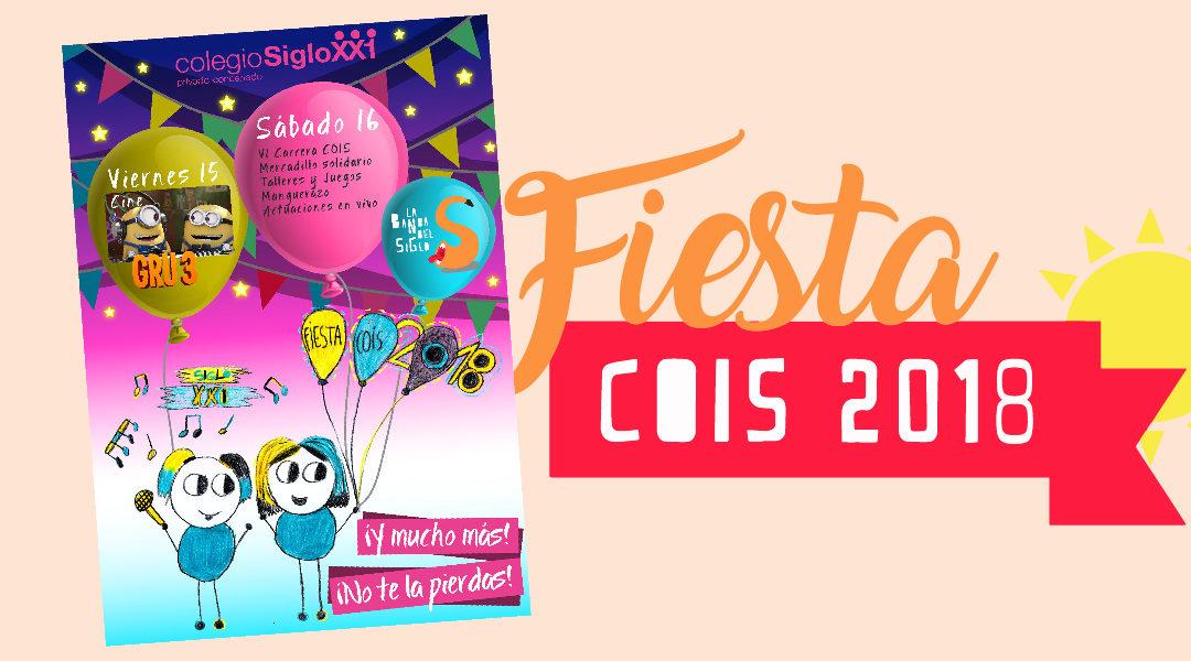 ¡No te pierdas la Fiesta COIS!