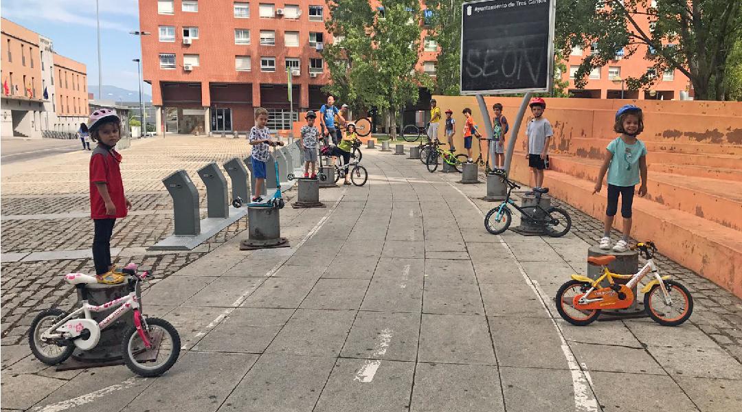 Paseo interactivo por la ciudad deTres Cantos
