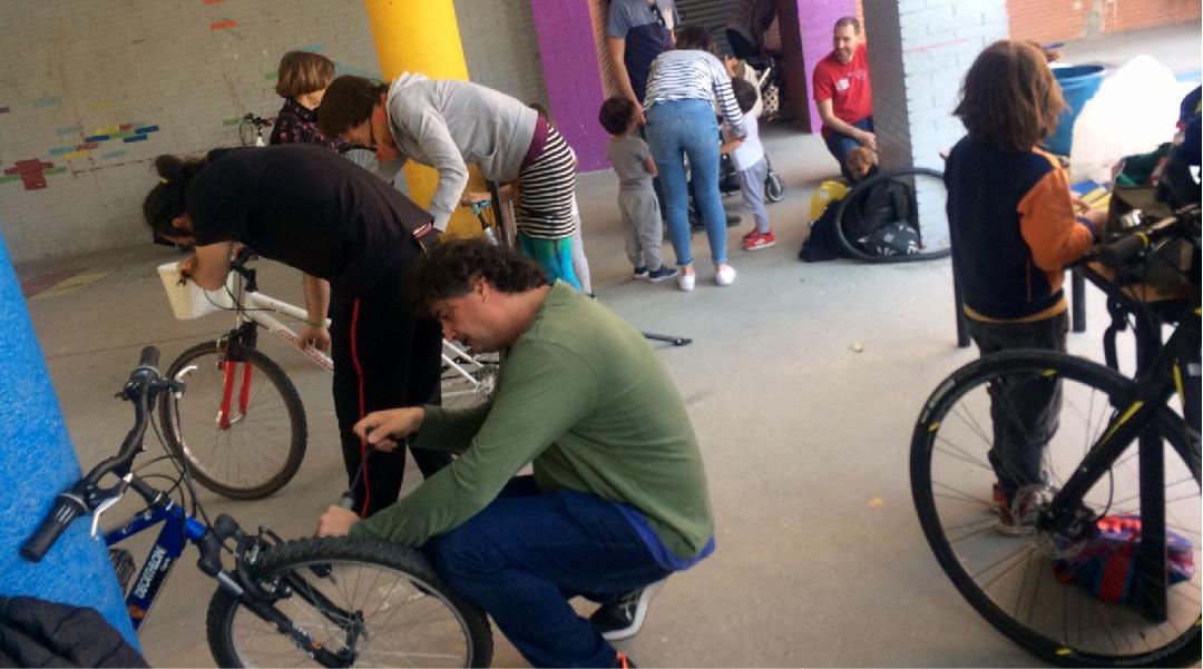 Taller y escuela de bicis