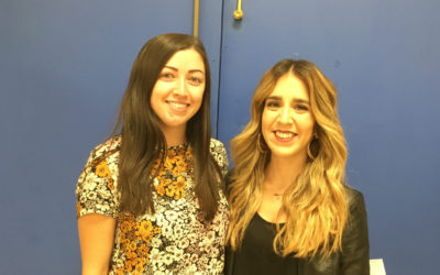 Meet the English Language Assistants: Toni and Vanessa