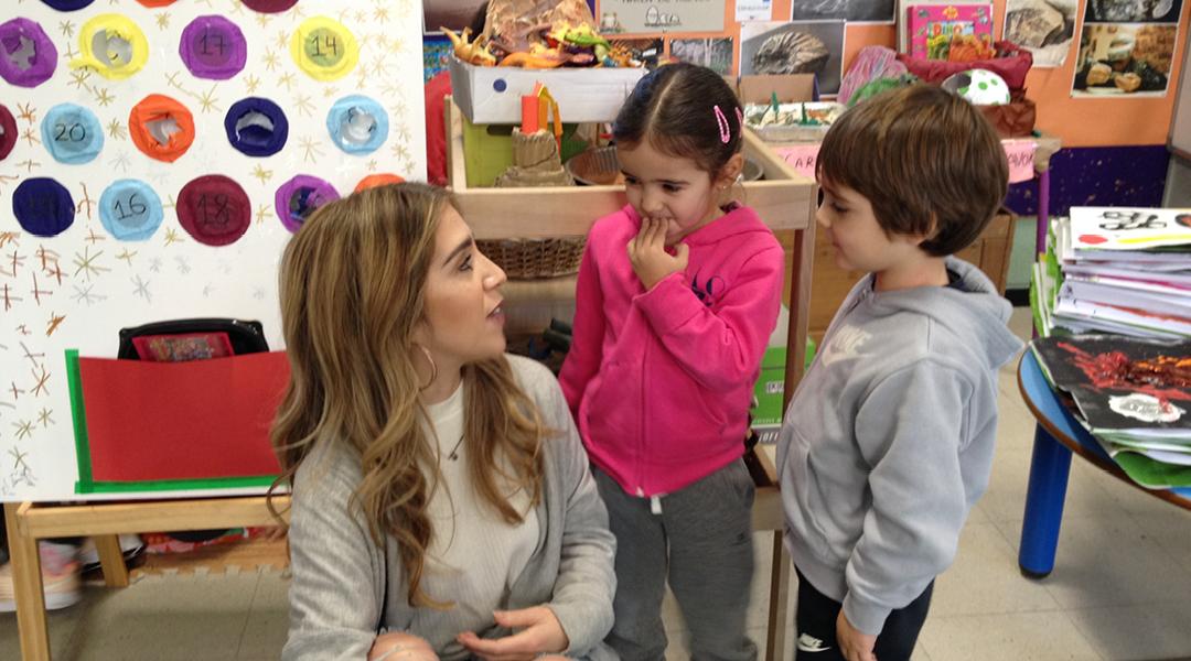 En clase con Vanessa