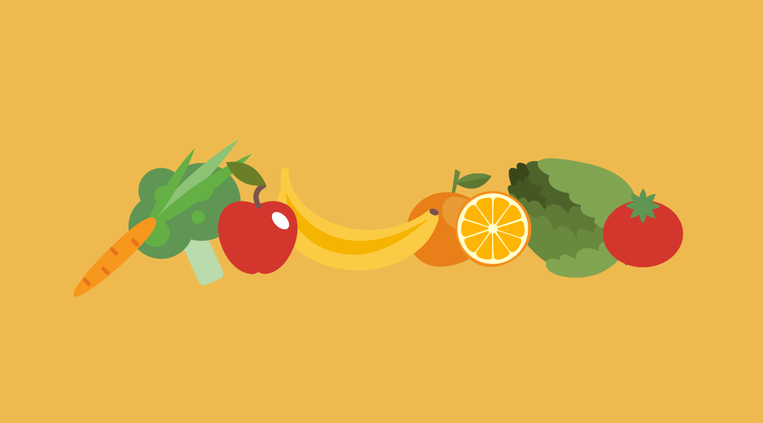 Programa escolar de consumo de frutas y hortalizas