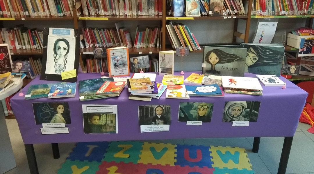 Mesas temáticas en la biblioteca durante el mes de febrero