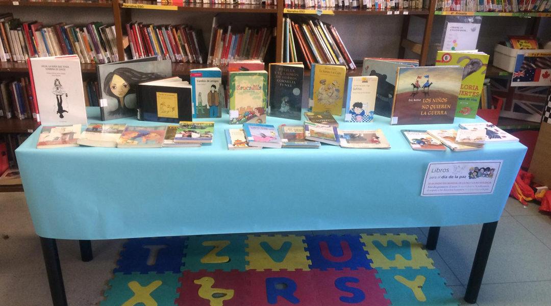 Mesas temáticas sobre la paz en la biblioteca
