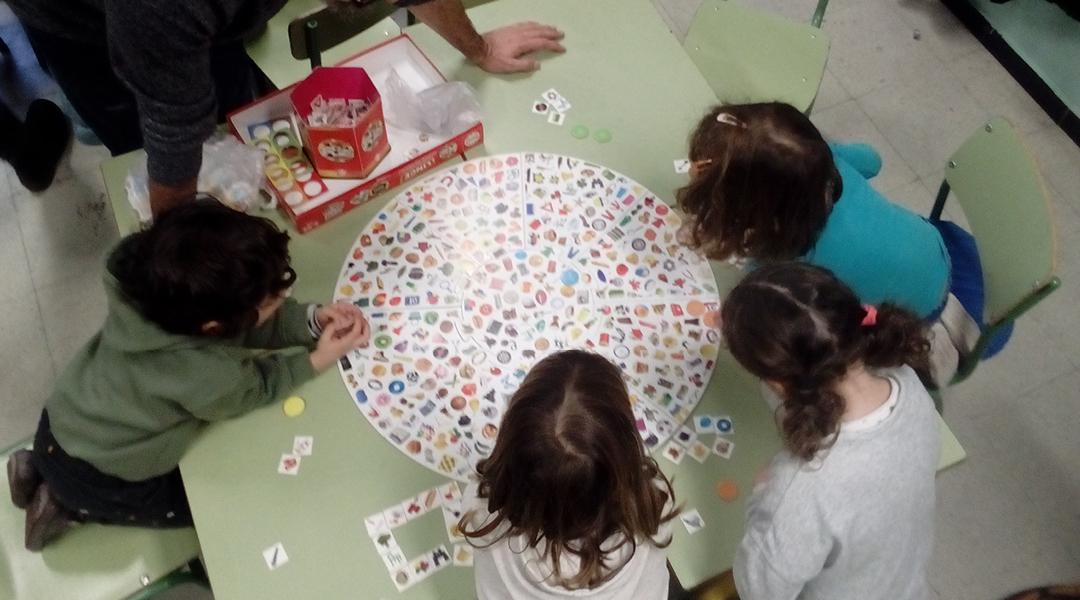 Una tarde de juegos en familia
