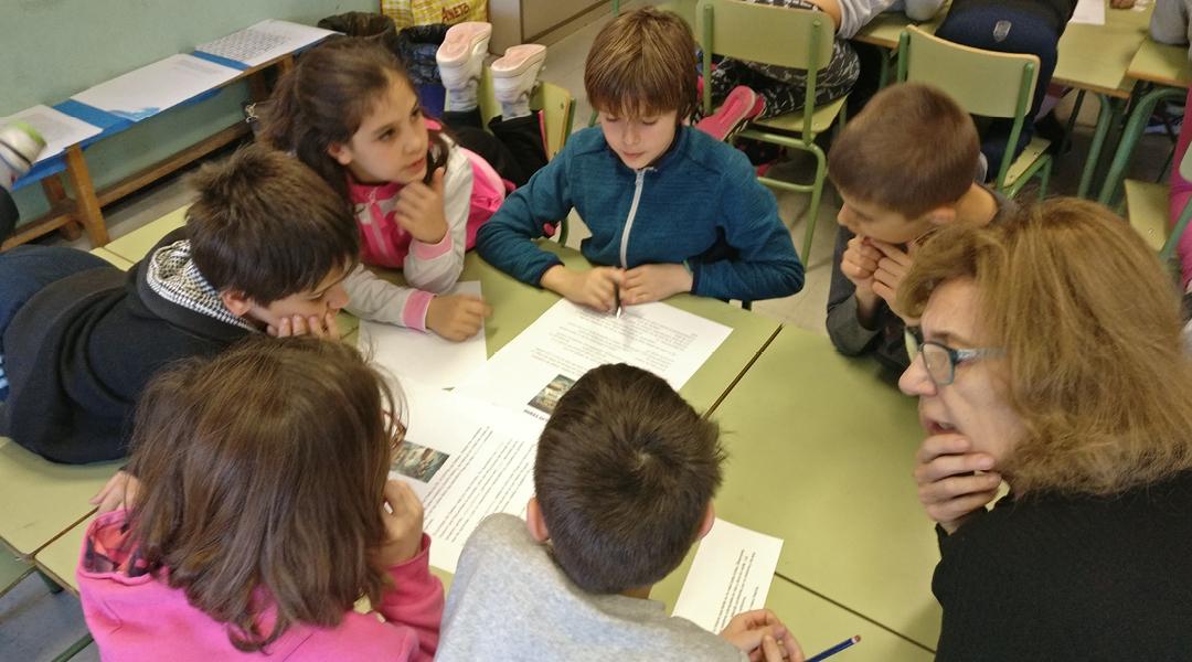Grupos interactivos en 5º primaria