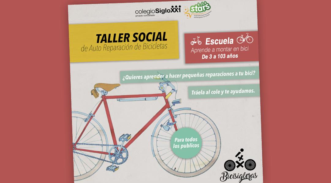 Taller-escuela de bicis 26 abril