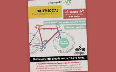 Taller-escuela de bicis viernes 5 de abril