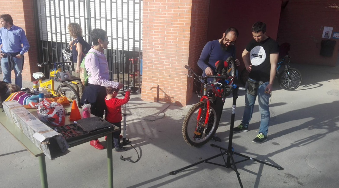 Taller-escuela de bicis