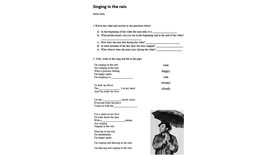 Spring Dance songs