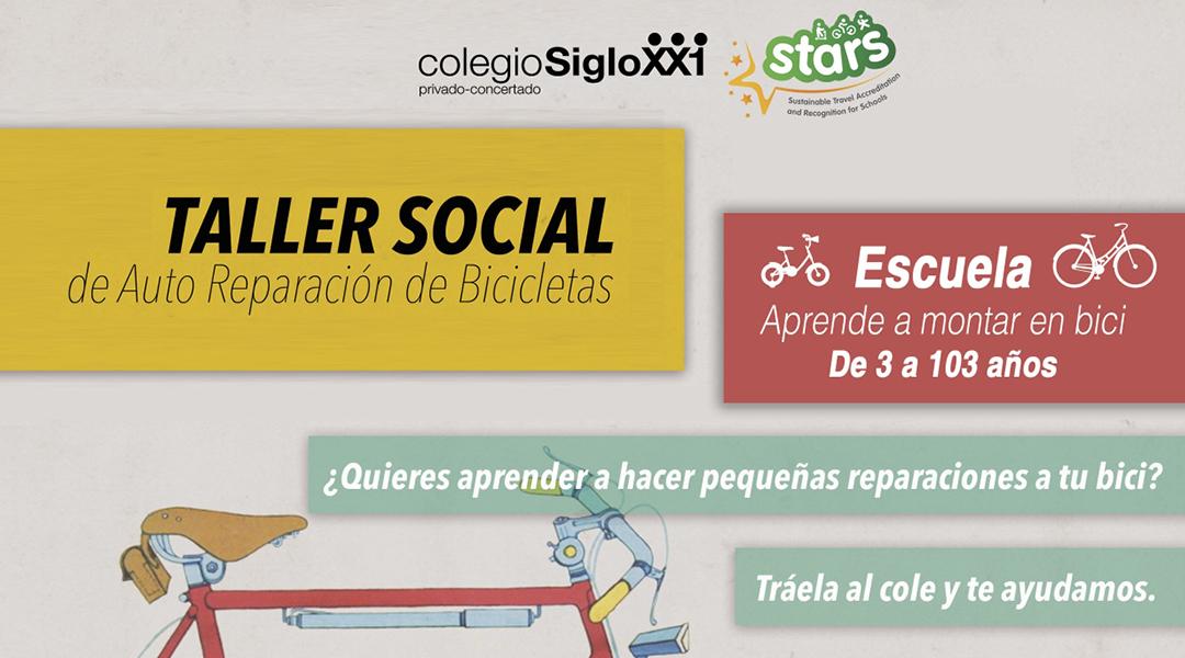 Taller social de autoreparación de bicicletas