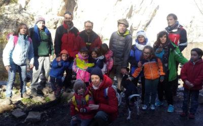 Excursión a la cascada del Hervidero