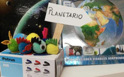 Primero de primaria se va al planetario. Los trikis también