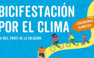 ¡Únete a la marcha y bicifestación por el clima!