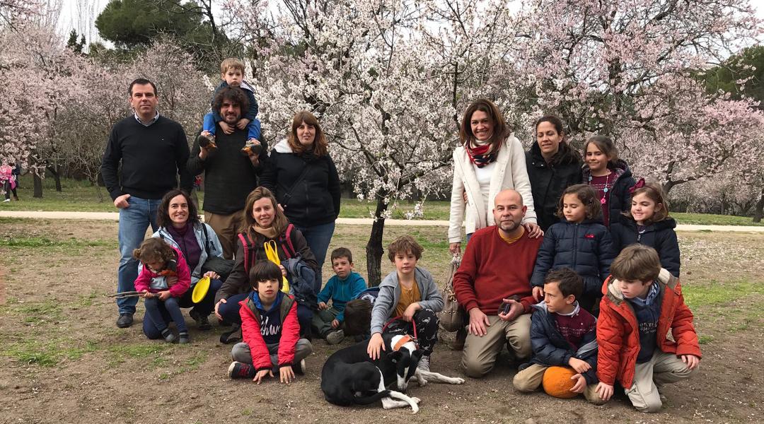 Paseo primaveral por la Quinta de los Molinos