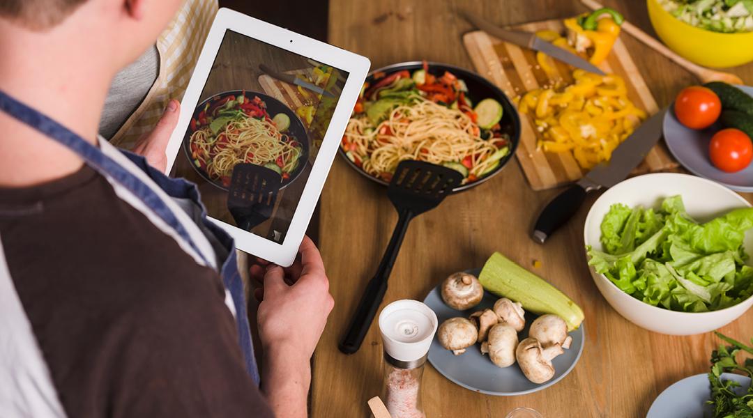 Un cocina virtual