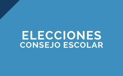 Publicación candidatos y candidatas Consejo Escolar