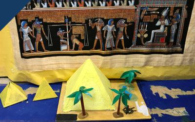 5 años en el antiguo Egipto