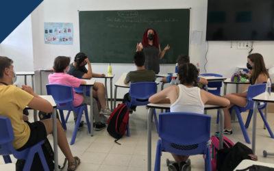 Visita de Elena Martínez