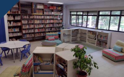 La biblioteca se pone en marcha