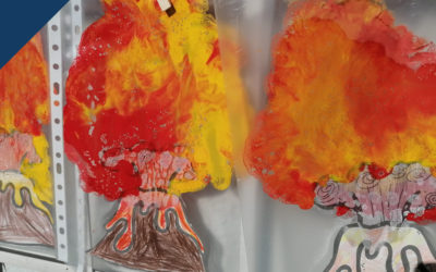 Volcanes en 1º de primaria